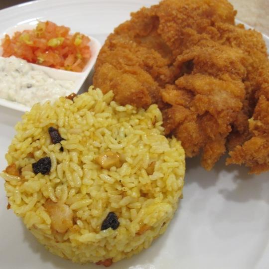 Chicken Teriyaki with Yellow Rice